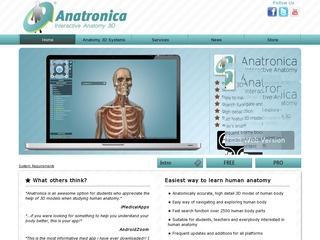 Anatomy 3D- Anatronica: