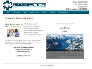 Community Choice Health Record Bank